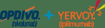 OPDIVO(R)(nivolumab) + YERVOY(R) (ipilimumab) logo